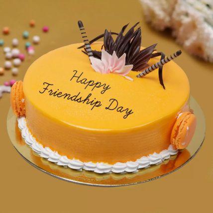 Friendship Day Mango Cake 1.5 Kg