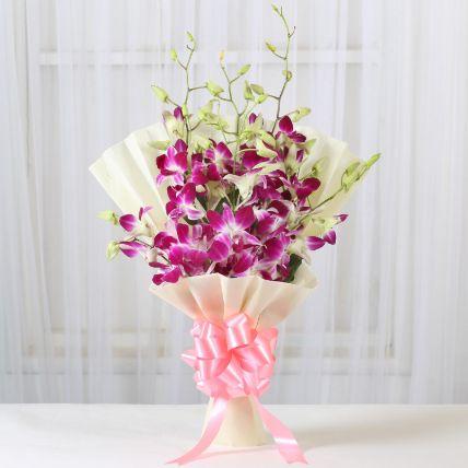 Impressive Orchids Flowers Bunch