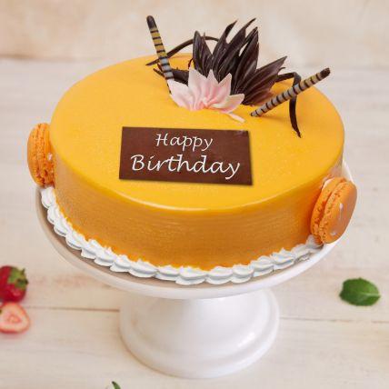 Mango Birthday Surprise Cake 1.5 Kg