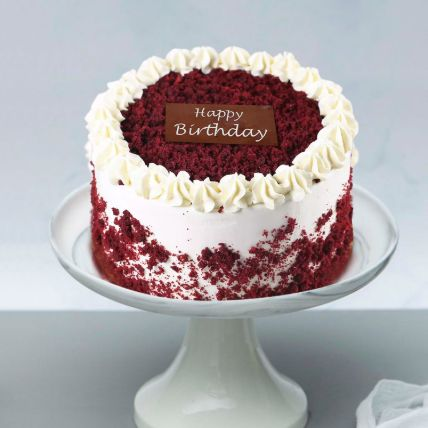 Red Velvet Cake For Birthday 1 Kg