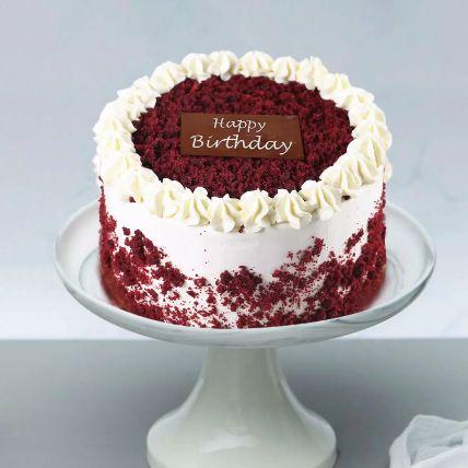 Red Velvet Cake For Birthday Half Kg