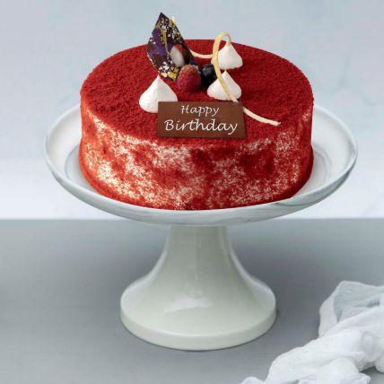 Velvety Birthday Surprise Cake 1.5 kg