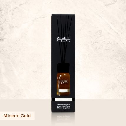Reed Diffuser Mineral Gold Fragrance