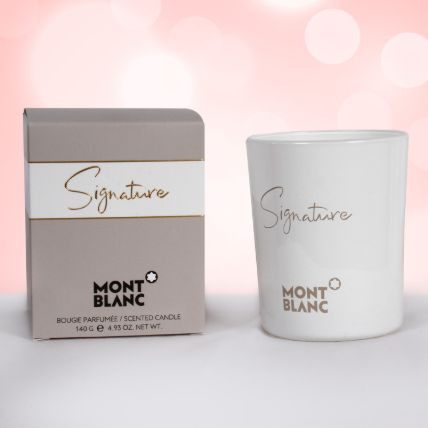 Mont Blanc Signature Scented Candle