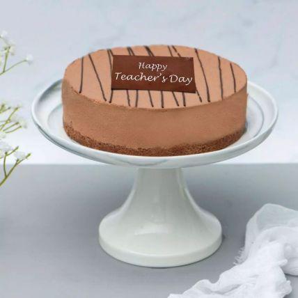 Chocolate Truffle Cake For Teachers Day Half Kg