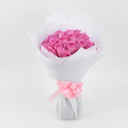 35 Light Pink Roses Bouquet