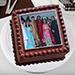 Square Photo Cake 3 Kg Truffle Cake