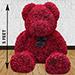 2500 Red Roses Teddy Bear