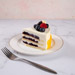 Yummy Vanilla Berry Delight Cake- 1 Kg