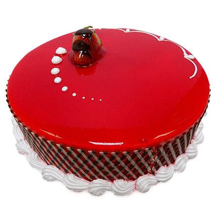 500Gm Strawberry Carnival Cake