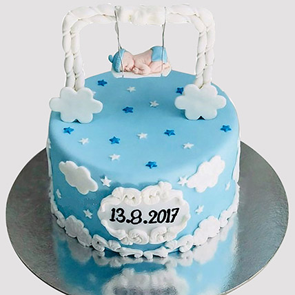New Born Baby Designer Cake