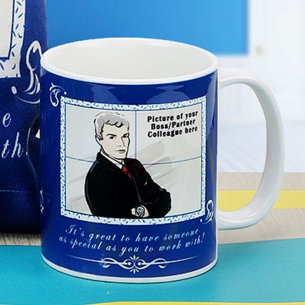 The Boss Personalised Mug