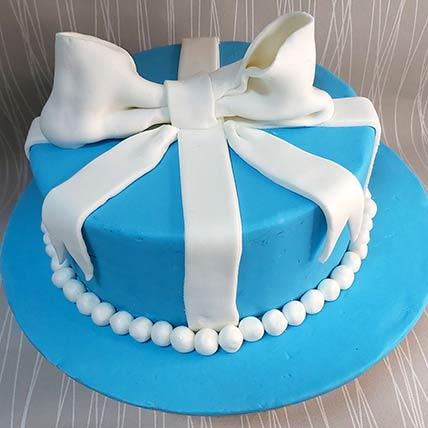 Baby Boy Gift Chocolate Cream Cake