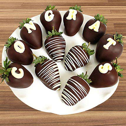 Congrats Chocolate Covered Strawberries