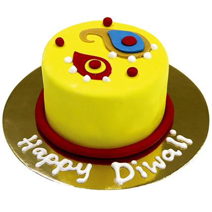 Special Diwali Chocolate Mono Cake