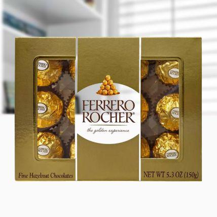 Ferrero Rocher Chocolates 12 Pieces