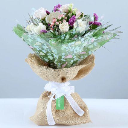 Pink & White Dreamy Floral Bouquet