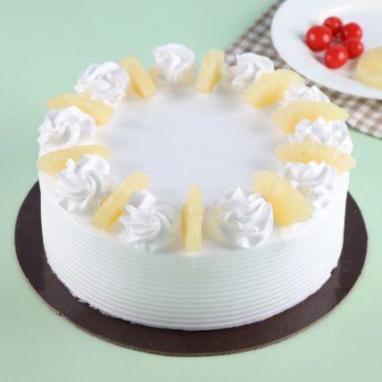 Pineapple Round Cake 1.5 Kg