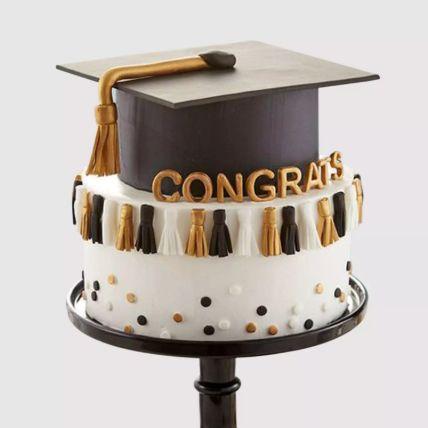Graduation Hat Grand Cake 1 Kg