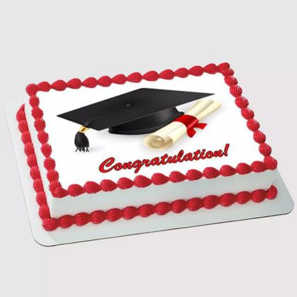 Graduation Photo Cake 2 Kg