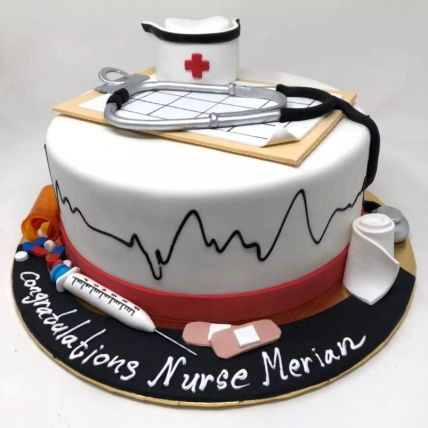 Happy Graduation Doctor Cake 2 Kg