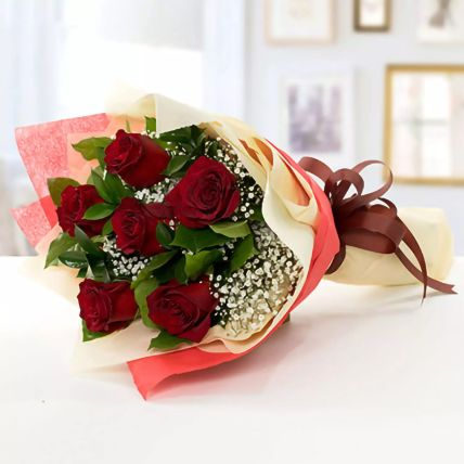 Beauty of Love Roses Bouquet