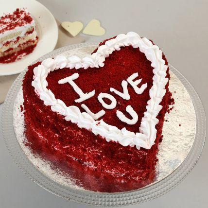 Red Velvet Love Cake 1 Kg