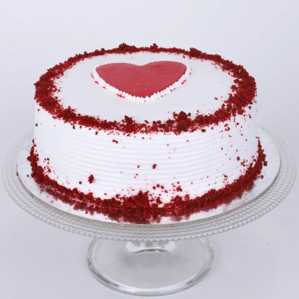 Adorable Red Velvet Cake Half Kg