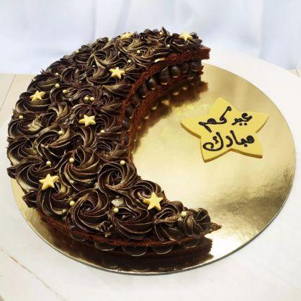 Eid Crescent Cake