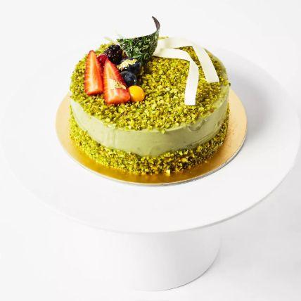 Pistachio Cream Cake 8 Portion