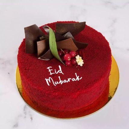 Red Velvet Cake For Eid 8 Portion