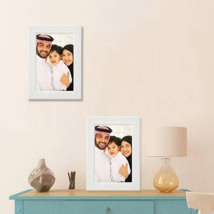 Precious Memories White Photo Frame