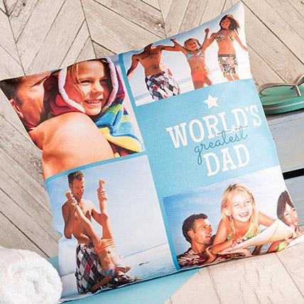 Worlds Greatest Dad Cushion