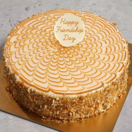 Friendship Day Butterscotch Cake 1 Kg