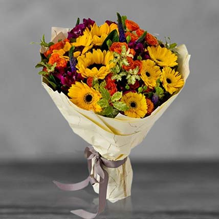 Blooming Sunshine Bouquet