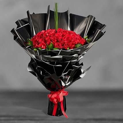 Ravishing Red Roses Premium Bouquet