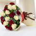 Beauty Of Red N White 20 Roses