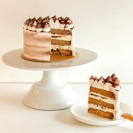 5in Round Tiramisu Cake