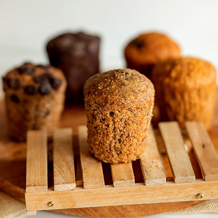 Wholemeal Banana Muffin