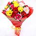 Joyful Mixed Gerbera Bouquet SG