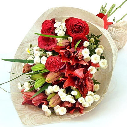 Lovely Bouquet Of Flowers