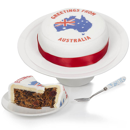 Greetings From Australia Fruit Cake