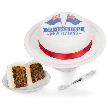 Greetings From New Zealand Fruit Cake