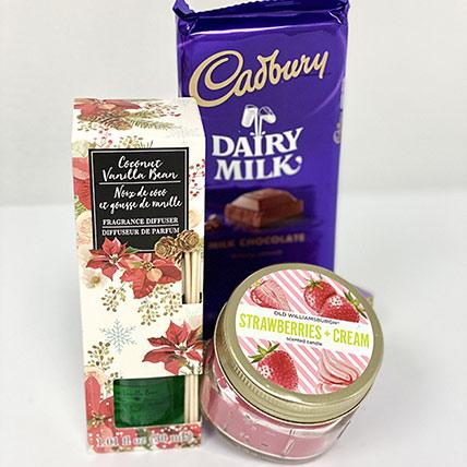 Fragrance & Choco Combo