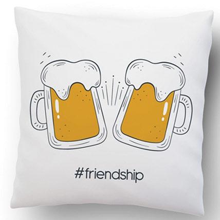Friendship Square Cushion
