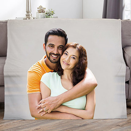 Picture Perfect Personalized Photo Blanket