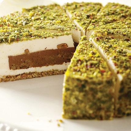 Pistachio Cream Cake