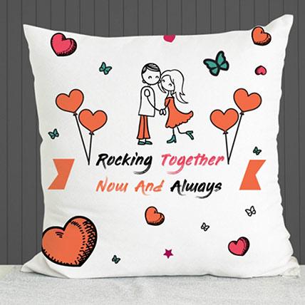 Rocking Together Cushion