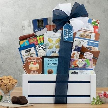 Thankyou Gourmet Gift Basket
