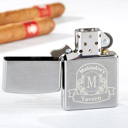 Vintage Bar Personalized Windproof Lighter